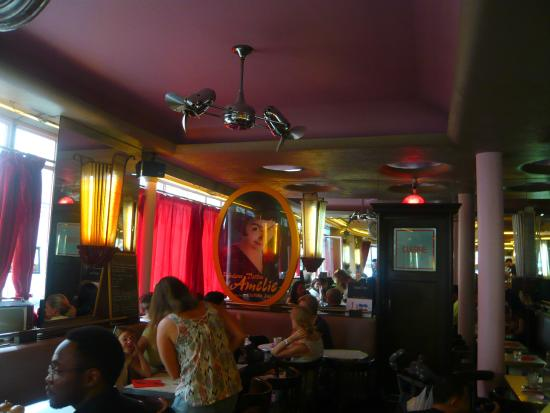 inside picture of cafe des deux moulins paris tripadvisor. Black Bedroom Furniture Sets. Home Design Ideas