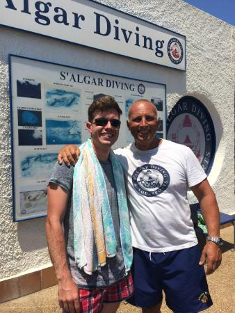 S'Algar Diving: THE BEST ONE! =)
