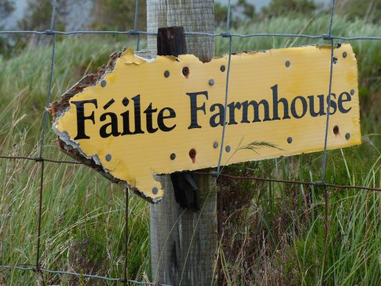 Failte Farmhouse: Catherines Wgweiser