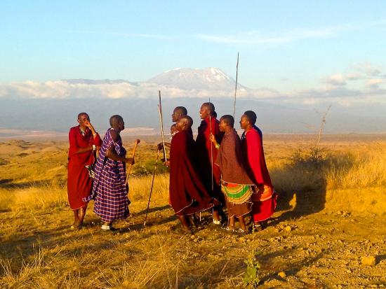 maasai and kilimanjaro is one heart - Picture of Original