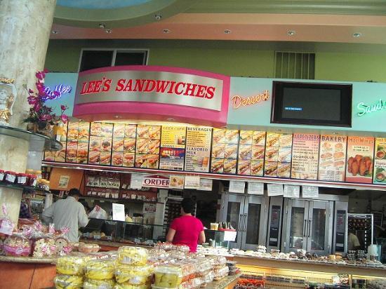 Lee's Sandwiches Larkin: ファストフードみたいなもんです。