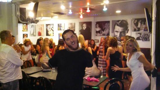 Peabody's Coffee Bar: Great Saturday night!