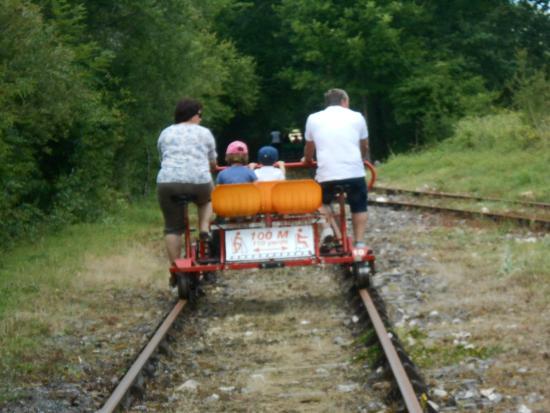 Velo Rail Corgnac