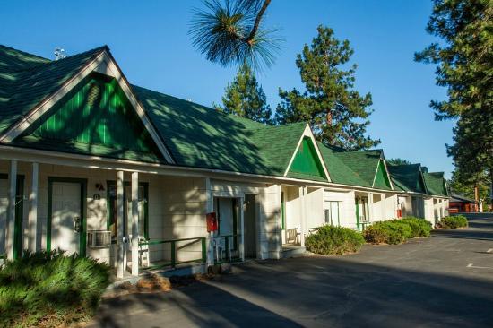 Green Gables Motel Motelzimmer Von Außen