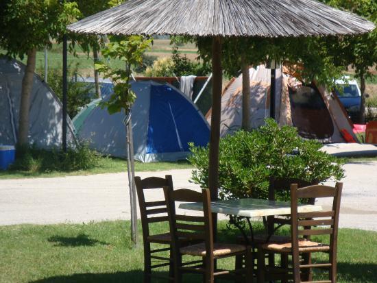 Rhodope Region, Grecia: χώρος σκηνών