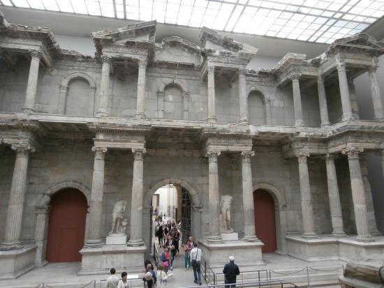 Porta di ishtar babilonia foto di museo di pergamon - Porta di mileto ...