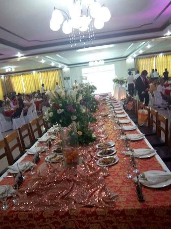 Villa Maria Luisa Hotel: The grand Ballroom prepared..