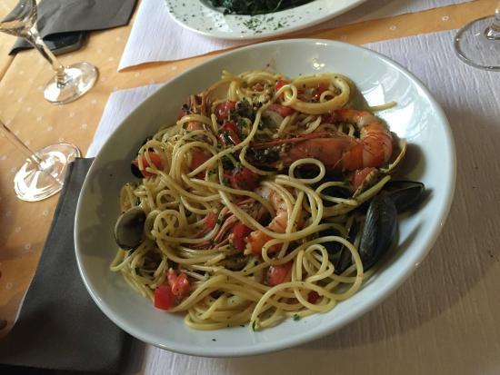 Da Paolo : spaghetti ai frutti di mare