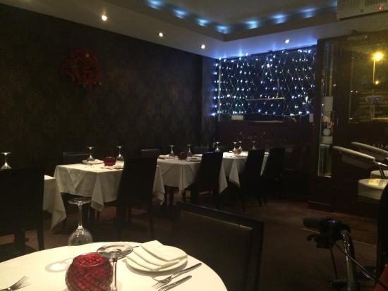 Restaurant interior picture of asiana indian restaurant for Asiana indian cuisine
