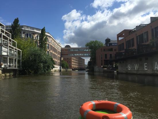 Elsterboot Am Rennbahnsteg