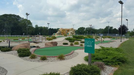 Saint Marys, OH: St. Mary's miniature golf course. July 26th 2015