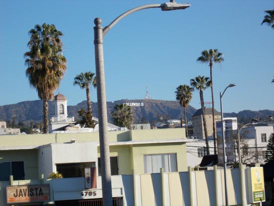 """Hollywood Guest Inn: Vista dalla mia camera... """"Hollywood""""!"""
