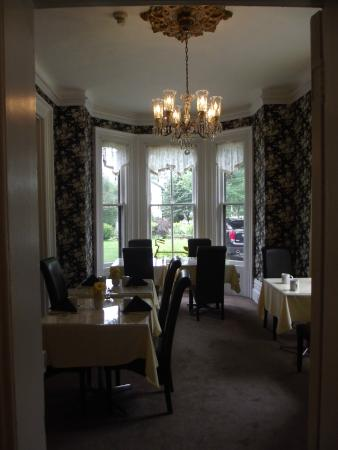 Stone Maiden Inn: dining hall