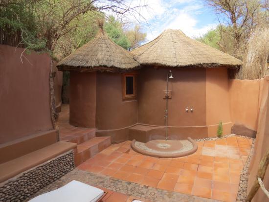 Awasi Atacama - Relais & Chateaux: Área externa exclusiva do quarto