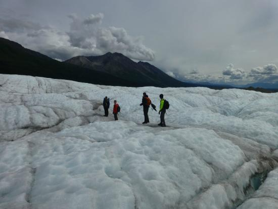 McCarthy, AK: Hiking on the glacier