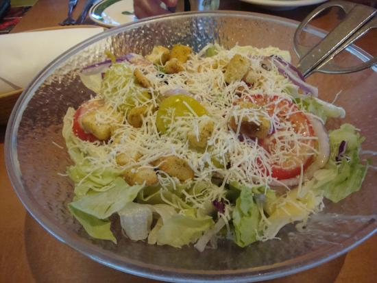 Salad All You Can Eat Picture Of Olive Garden Plano Tripadvisor