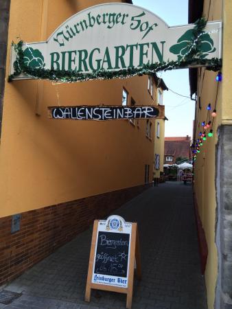 Biergarten Bild Von Nurnberger Hof Altdorf Bei Nurnberg Tripadvisor