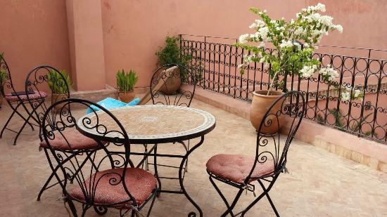 Riad Tayba: Terrazza suite Merinides