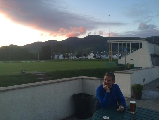 Keswick Rugby Football Club: Outside Keswick rugby club