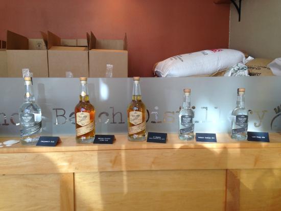Cannon Beach Distillery: The Lineup!