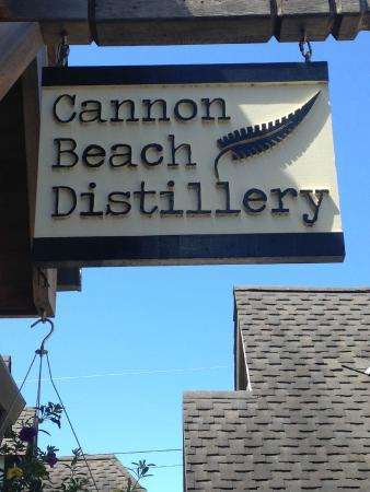 Cannon Beach Distillery: Found it!