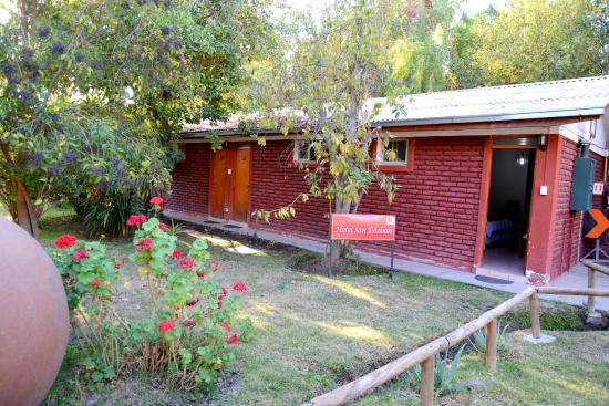 hotel san esteban os quartos so direto para o jardim