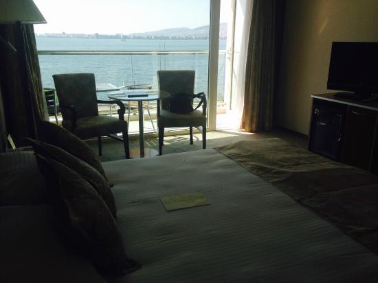 Hotel Izmir Palas: View