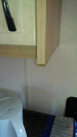 kitchen cupboards peeling