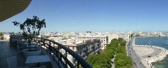 Grande Albergo delle Nazioni: Outstanding views of the city