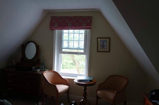Ilsington, UK : Bedroom window