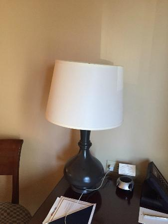 Hotel Crescent Court: Crooked Lampshade #1