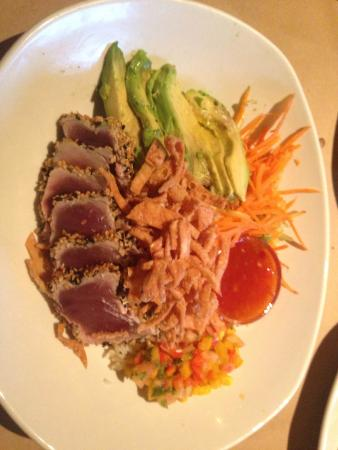 Spicy Tuna Bowl Picture Of Bonefish Grill Fort Myers Tripadvisor