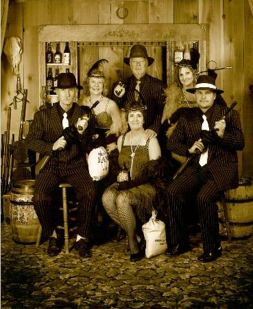 Real West Old Time Portraits: Fun reunion of friends who worked together in Germany