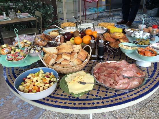 Hotel Salotto Monti.Breakfast On The Terrace Picture Of Salotto Monti Rome