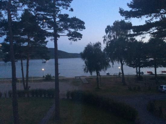 Rosfjord Strandhotell : Utsikt fra rommet