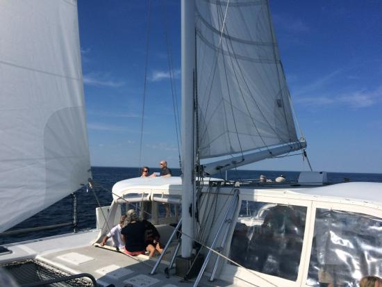 9th Wave Sailing Charters: A few photos taken aboard the 9th Wave in Newburyport