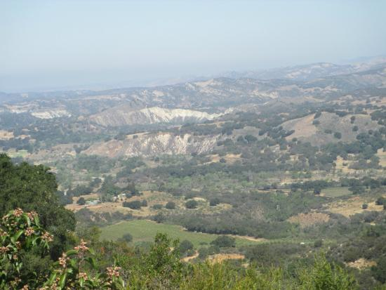 Santa Ynez Valley: Vista do mirante