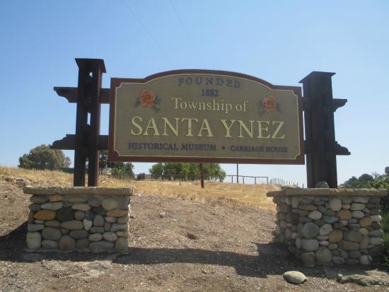 Santa Ynez Valley: Chegando em Santa Ynez