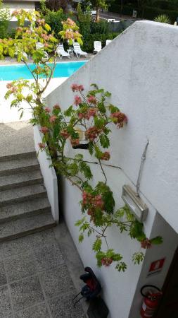 Hotel Rosa Dei Venti: Un des accès aux chambres
