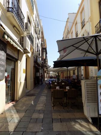 Hostal Virgen del Rocio: Street