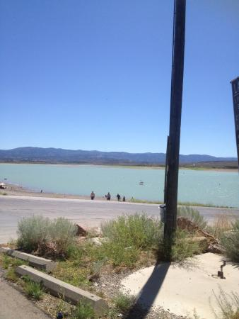 Levan, UT: Yuba State Park beach and boating area
