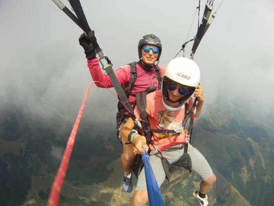 2Glide Tandem Paragliding