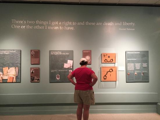 Castellani Art Museum of Niagara University: Freedom Crossing exhibit