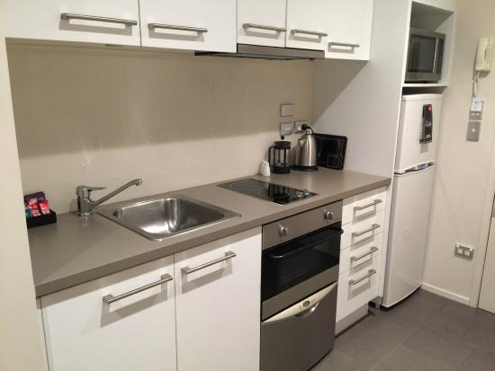 Quest Carlaw Park: A complete kitchen - nice!!!