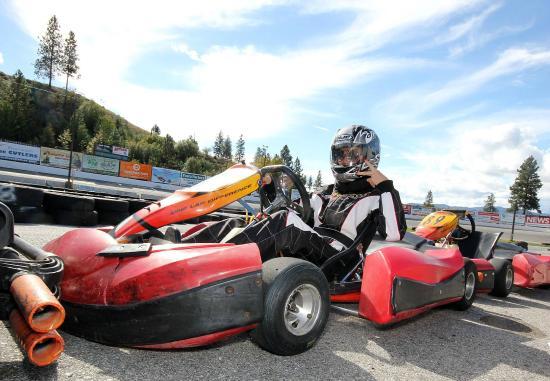 West Kelowna, Kanada: Kart racing.