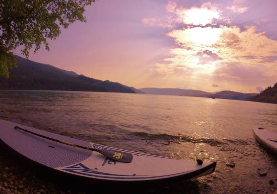 West Kelowna, Canada: SUP rentals and tours throughout the Okanagan Valley.