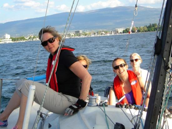 West Kelowna, Kanada: Sailboat charters- great value here!