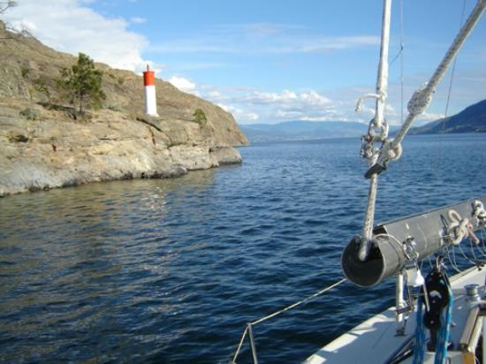 West Kelowna, Kanada: Sailboat charters- actively participate or sit back & relax,