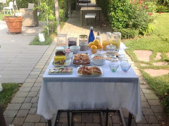B&B Ca'Minore : La colazione