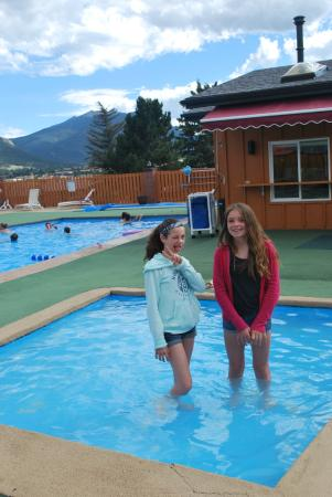 Wading Pool And Larger Pool Behind Picture Of Murphy S Resort At